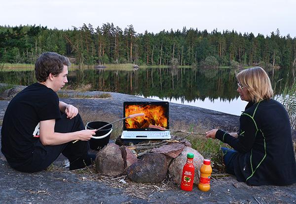 """Finalistbild av Leif Sylvan: """"Eldningsförbud""""."""