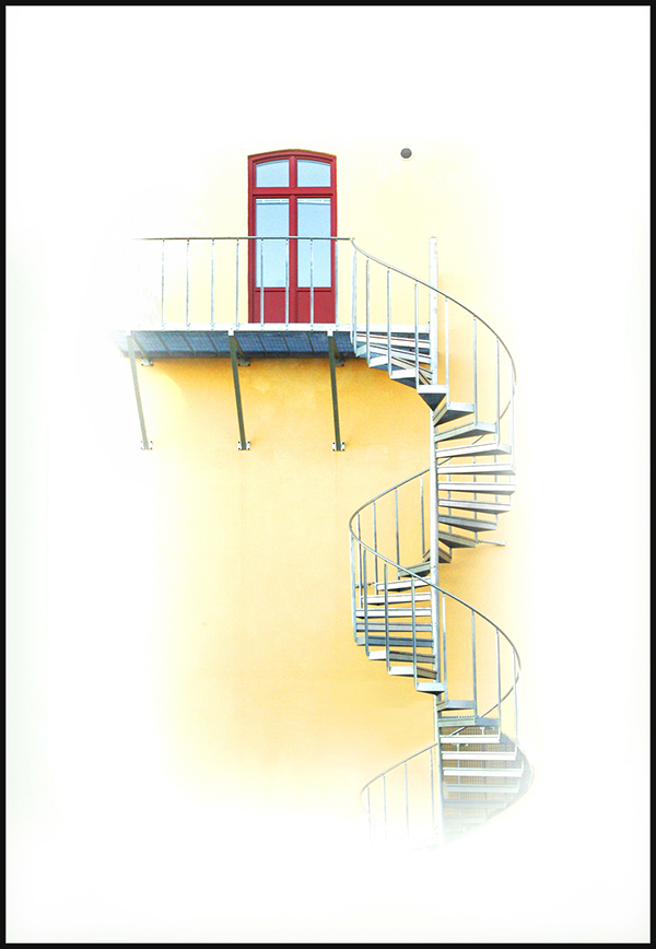 """Finalistbild av Sven Larsson: """"Mot ett högre plan""""."""